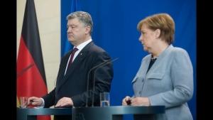 Украина, Германия, Россия, Меркель, Порошенко, Политика,