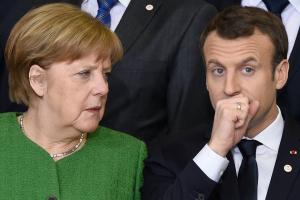 меркель, макрон, ссора, четверка, встреча, украина, донбасс, зеленский, путин