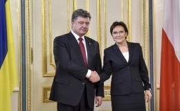 ева копач, польша, украина, киев, политика, экономика, кредит, петр порошенко