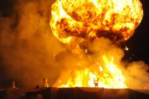 Казахстан взрыв видео воинская часть детонация эвакуация
