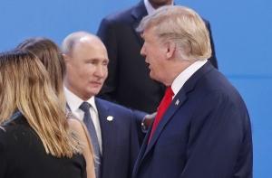 трамп, путин, разговор, настроение, скандал