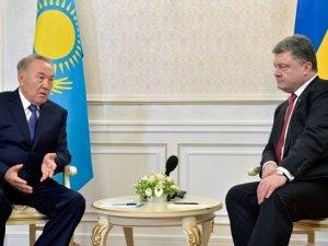 нурсултан назарбаев, казахстан ,киев, новости украины, петр порошенко, политика, экономика, общество ,сми