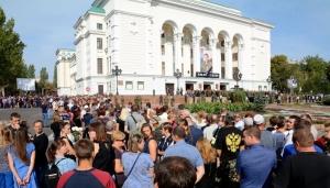 ДНР, восток Украины, Донбасс, Россия, смерть Захарченко, похороны