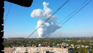 донецк, донбасс, происшествия, новости украины, юго-восток украины, химический завод в донецке