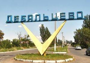 Дебальцево, украина, трасса