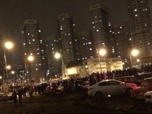 москва, стритрейсеры, хокынское поле,беспорядки, полиция, драка, бунт
