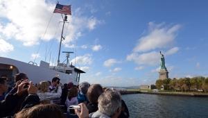 нью-йорк, сша, статуя свободы, общество, происшествия