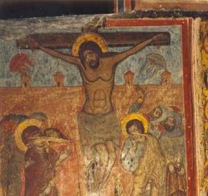 иисус христос, инопланетяне, распятие христа, икона, грузия, нло, уфологи
