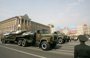 Киев, АТО, парад, техника, боевая