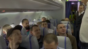 Украина, политика, россия, обмен пленных, самолеты, борт, видео, киев, сенцов, сущенко, моряки