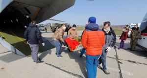 Украина, Одесса, Донбасс, спецборт, самолет, раненные, ВСУ, волонтеры