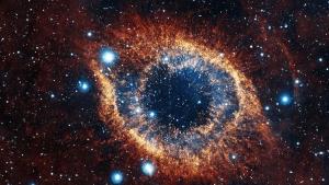 космосом, явление, Марса, запечатлели, объект, льдов, звезду, окружают, звезды, ученых, НАСА
