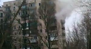 пожар, словацкая, дым, снаряд
