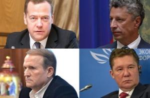 медведчук, бойко, нафтогаз, газпром, медведев, скандал
