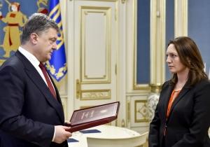 порошенко, георгий гонгадзе, звезда героя, награда, украина, мирослава гонгадзе,