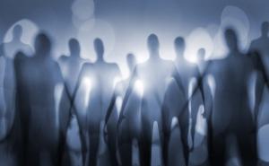 планет, раскрывал, Го, Мэн, Сенг, фигурой, мире, слова, цивилизации, картине, следы, НЛО