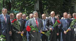 Порошенко, Яценюк, Турчинов, День независимости, поздравление