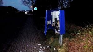 Шеппинген, взрыв, автомат с презервативами, вор, смерть, происшествия, общество