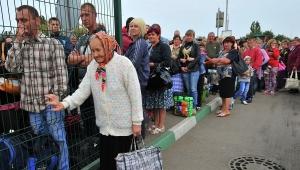 польша, граница, украина, беженцы