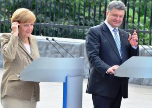 петр порошенко, ангела меркель, ситуация в украине, новости украины, новости германии
