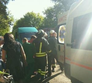 станица луганская, луганская область, автобус, дтп, авария, фото, пассажиры, пострадавшие, происшествия, новости украины