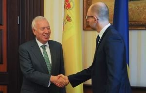 Хосе Гарсиа-Маргальо, мид испании, арсений яценюк, россия, украина, политика