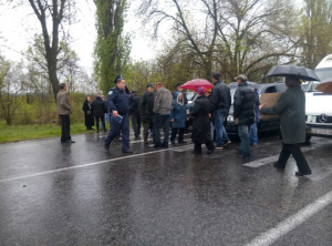 николаев, мвд украины, происшествия, селяне, акция протеста