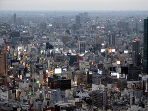 токио, япония, землетрясение