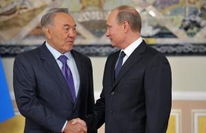 путин, назарбаев, договор о союзничестве