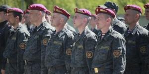 """Украина, Киев, Национальная гвардия, общество, вокзал, """"Южный"""", День Национальной гвардии, флешмоб"""