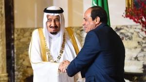 мир, Египет, Саудовская Аравия, Санафир, Тиран, Красное море, общество, делимитация