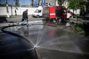 киев, пожар, происшествия, общество, новости украины
