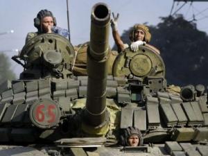 донецк, взрывы, залпы, днр, ополчение, шустер, украинская армия, наступление