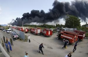пожар в киеве, Васильков, нефтебаза, брсм-нафта