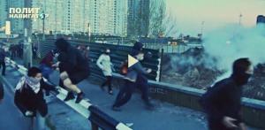 Киев, хулиганы, происшествия, криминал, милиция, Украина. мвд, новости, протест, стройка, стрельба, раненые, беспорядки