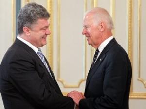 Порошенко, Байден, АТО, восточная Украина, Донбасс, гуманитарная помощь