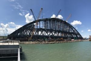 керченский мост, крым, аннексия, стройка, разрушения, россия, новости украины, гаага