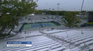 спорт, теннис, украина, свитолина, турнир большого шлема, сша, US Open, чехия, погода, дождь, приостановка матча