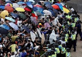 Гонконг, демонстранты. митинг, стычки, Китай, власти, ультиматум