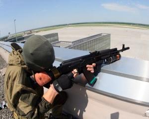 Донецк, обстрелы, Спартак, горит, аэропорт