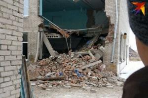 учебное, время, здание, стена, складе, пострадавших, человек, ущерб, внутри, заведения, жители
