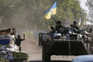 Украина, война на Донбассе, АТО