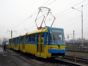 трамвай, забастовка, киев