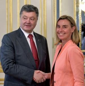 украина, порошенко, могерини, ес, донбасс
