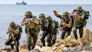 Россия, украина, десантники, война