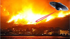 НЛО, климатическое оружие, Канарские острова, аномалии, происшествие, пожары, природные катастрофы