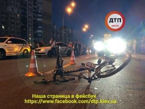 дтп, происшествия, новости, , Украина, авария, Киев, кортеж Петра Порошенко, подросток, велосипед