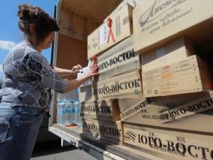 Ирина Геращенко, АТО, гуманитаная помощь, Донбасс, юго-восток Украины