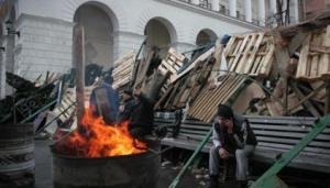 Майдан, Киев, МВД, казаки, разъехались, домой