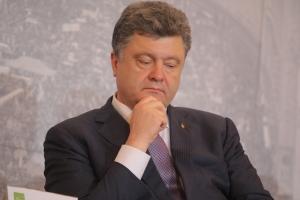 порошенко, донбасс, обстрелы, ато, париж